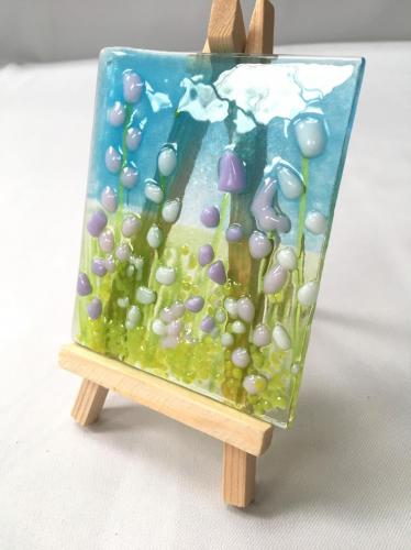 Mini Wildflower Picture with easel
